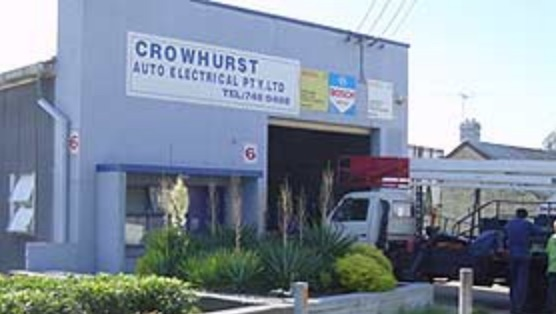 Crowhurst Auto Electrical workshop front