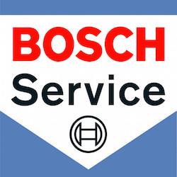 bosch car service sign