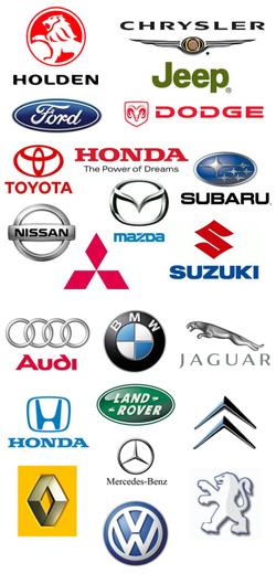 car logos banner