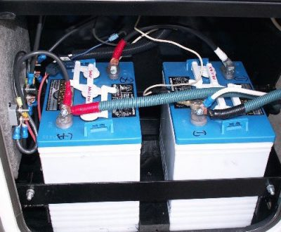 dual battery system installed